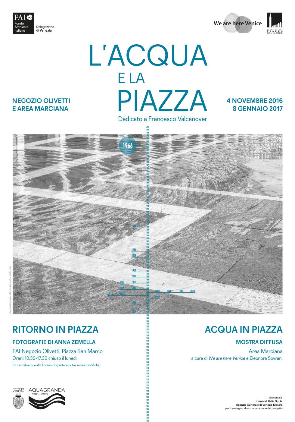 Acqua in Piazza - poster