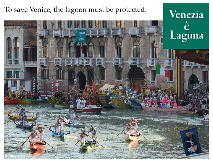 To save Venice, the lagoon must be protected