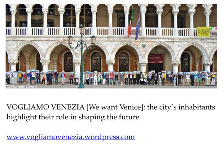 We want Venice