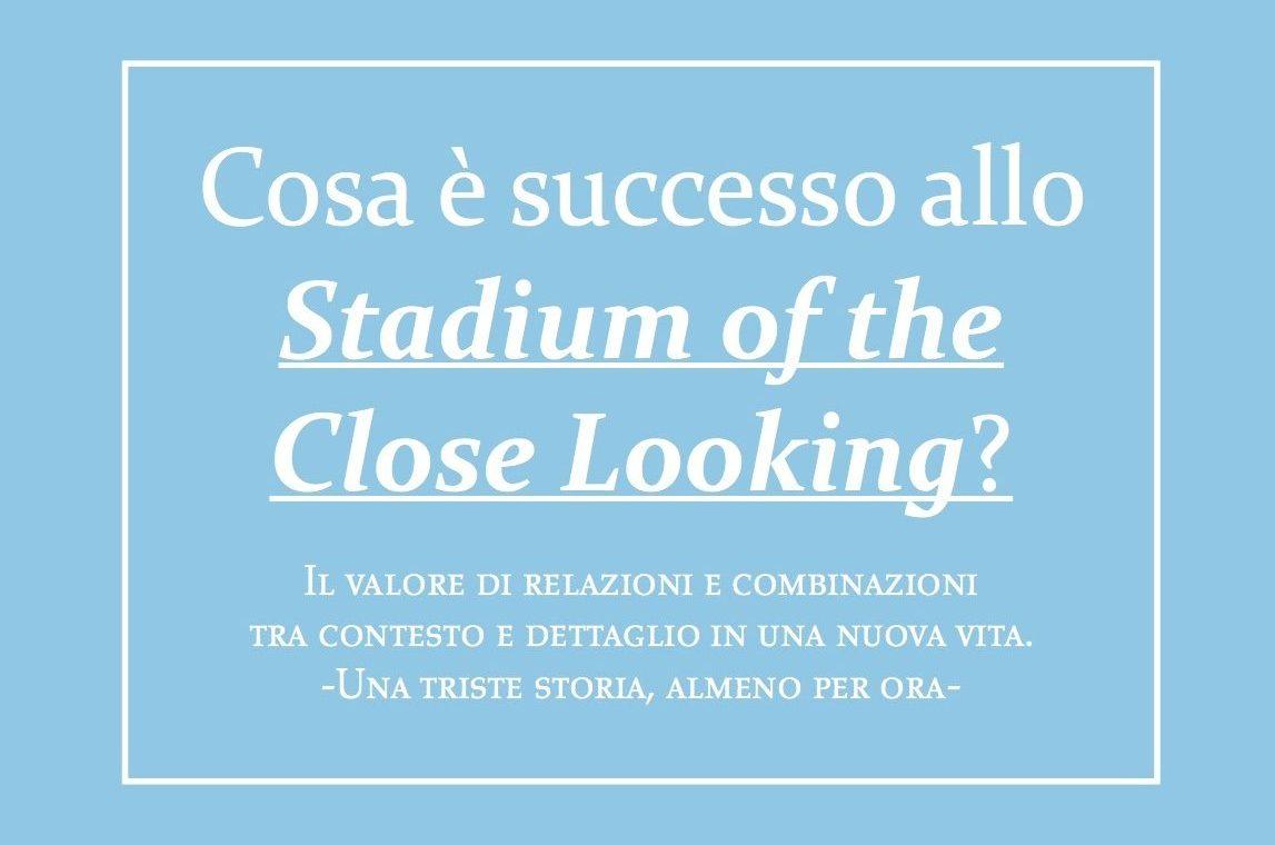 Cosa è Successo Allo Stadium Of Close Looking? VILLA FRANKENSTEIN (2012 Biennale Di Architettura)