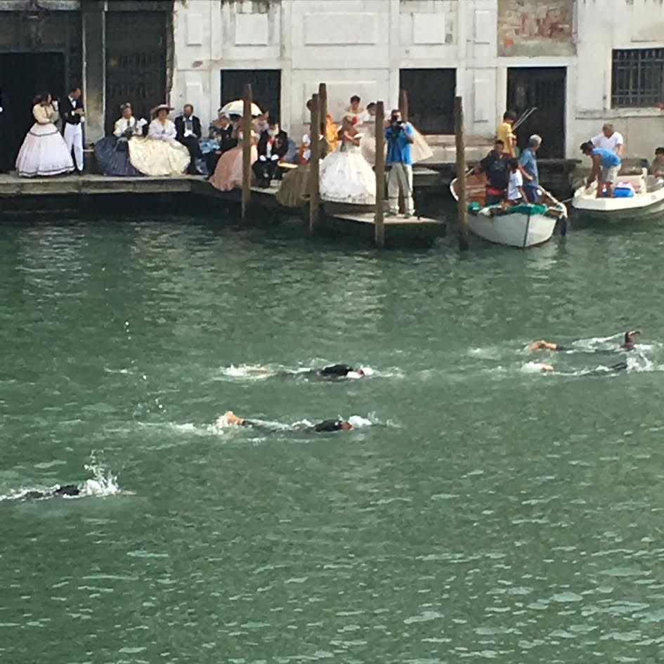 swimming gala in Venice