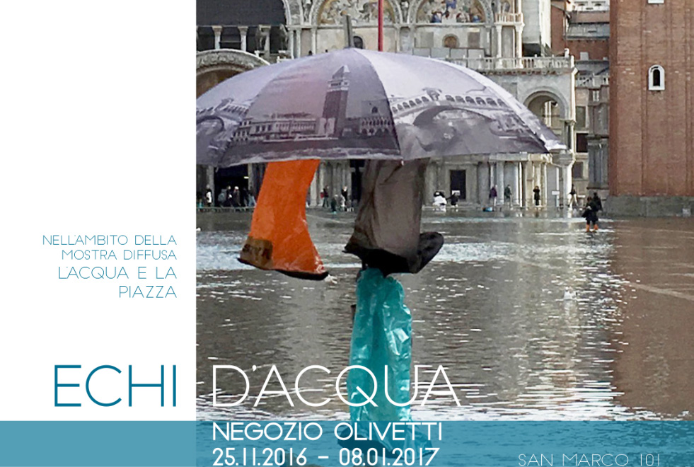 Echi D'acqua – IUAV Workshop At The Olivetti Showroom