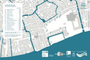 Mostra diffusa - luoghi della mostra intorno a Piazza San Marco