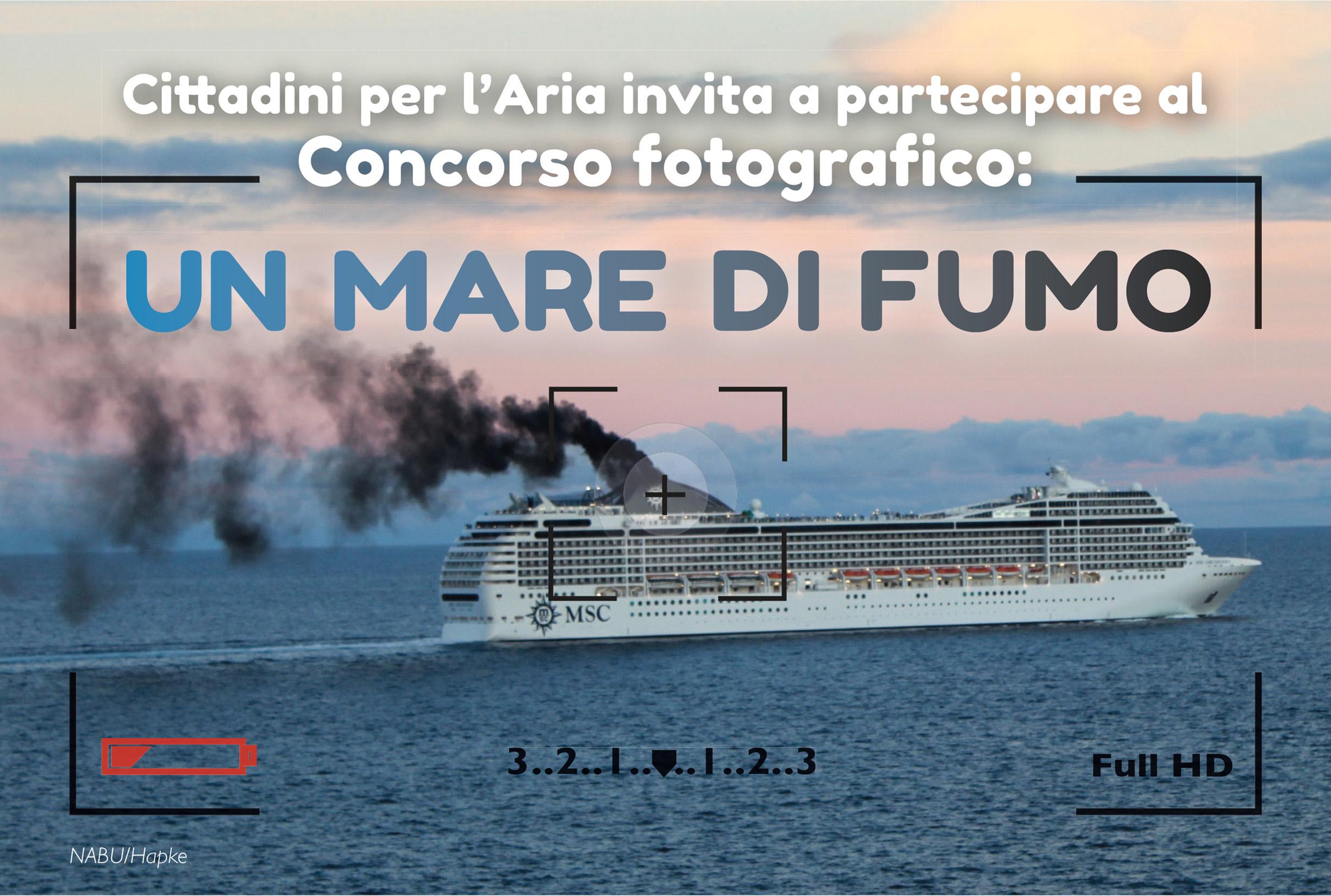 Facciamo Respirare Il Mediterraneo #MAREDIFUMO