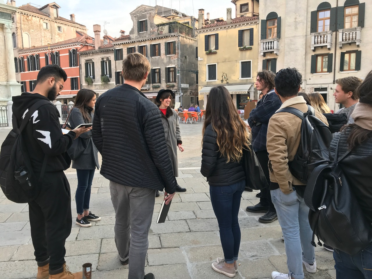 Exploring Venice With Architecture Masters Students From California Polytechnic State University