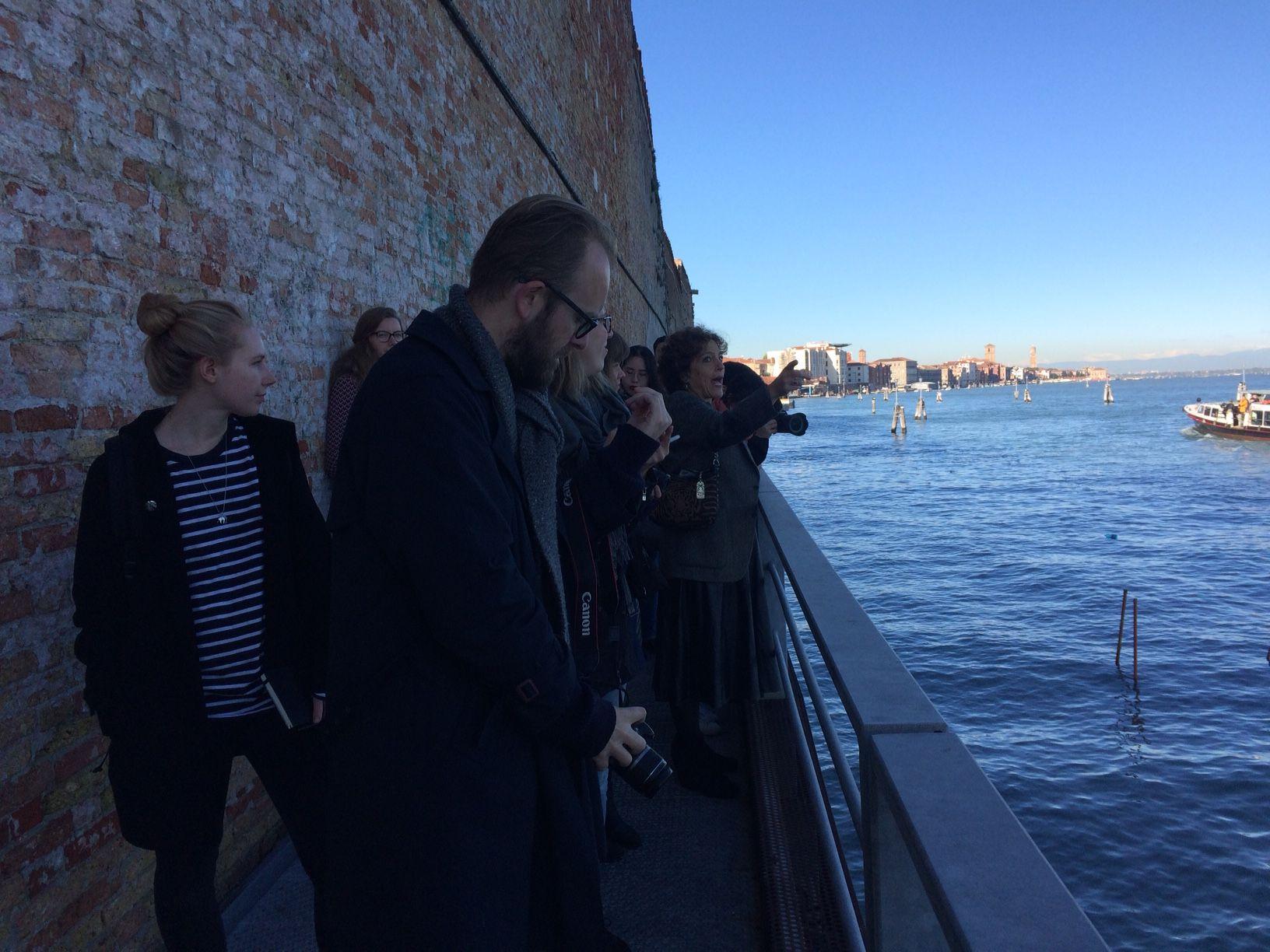 Esplorando Venezia Con Gli Studenti Di Architettura Dell'Università Tecnica Di Delft
