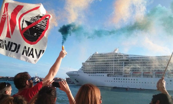 Responsible Travel, 08.12.16: Venice Cruise Ships Campaign