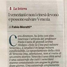 Fabio Moretti, Sostenitore Di Wahv, Risponde All'editoriale Sul Corriere Del Veneto