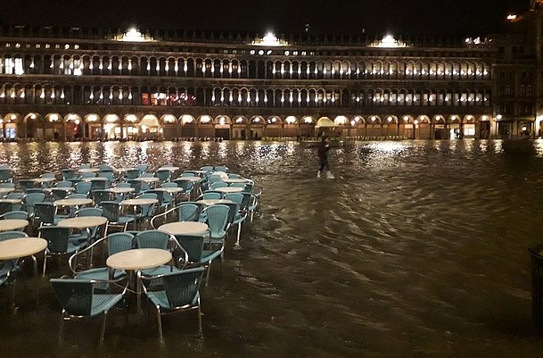 Katharina's Italy, 12.03.2018: High Water In Venice