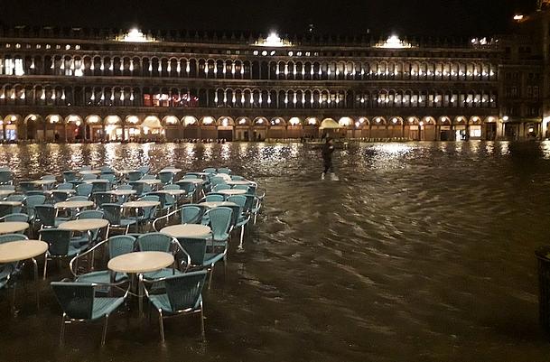 Katharina's Italy, 12.03.2018: High Water In Venice