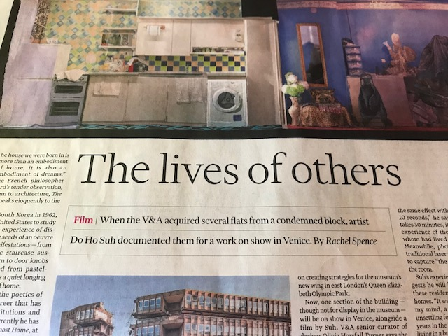 The Financial Times, 11.05.2018: The Lives Of Others