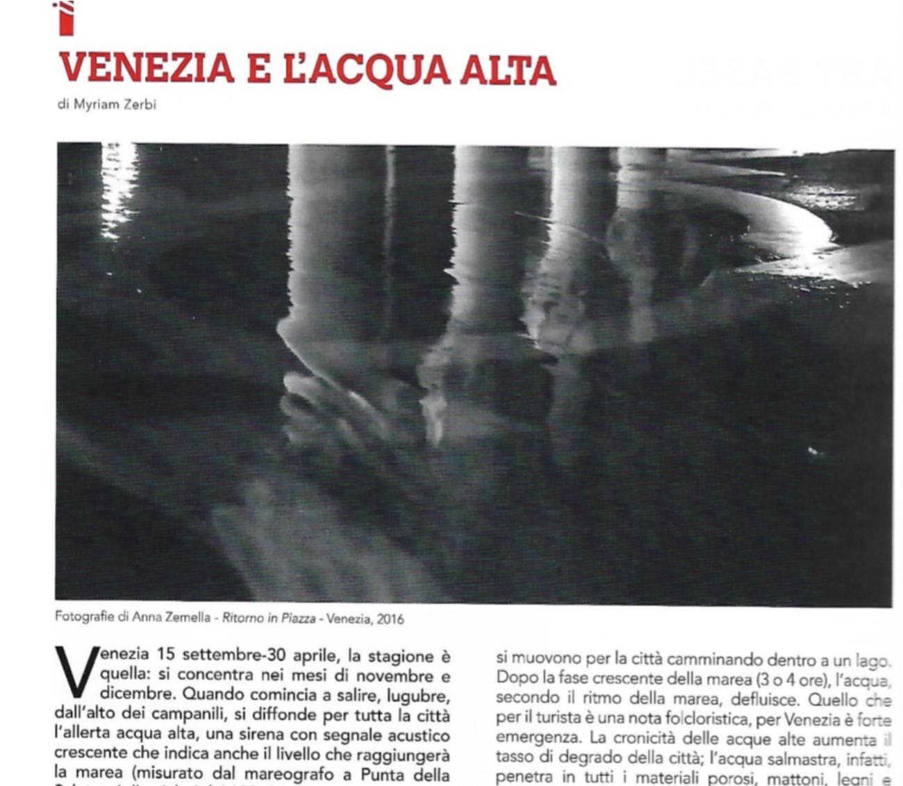 Venezia E L'acqua Alta Image