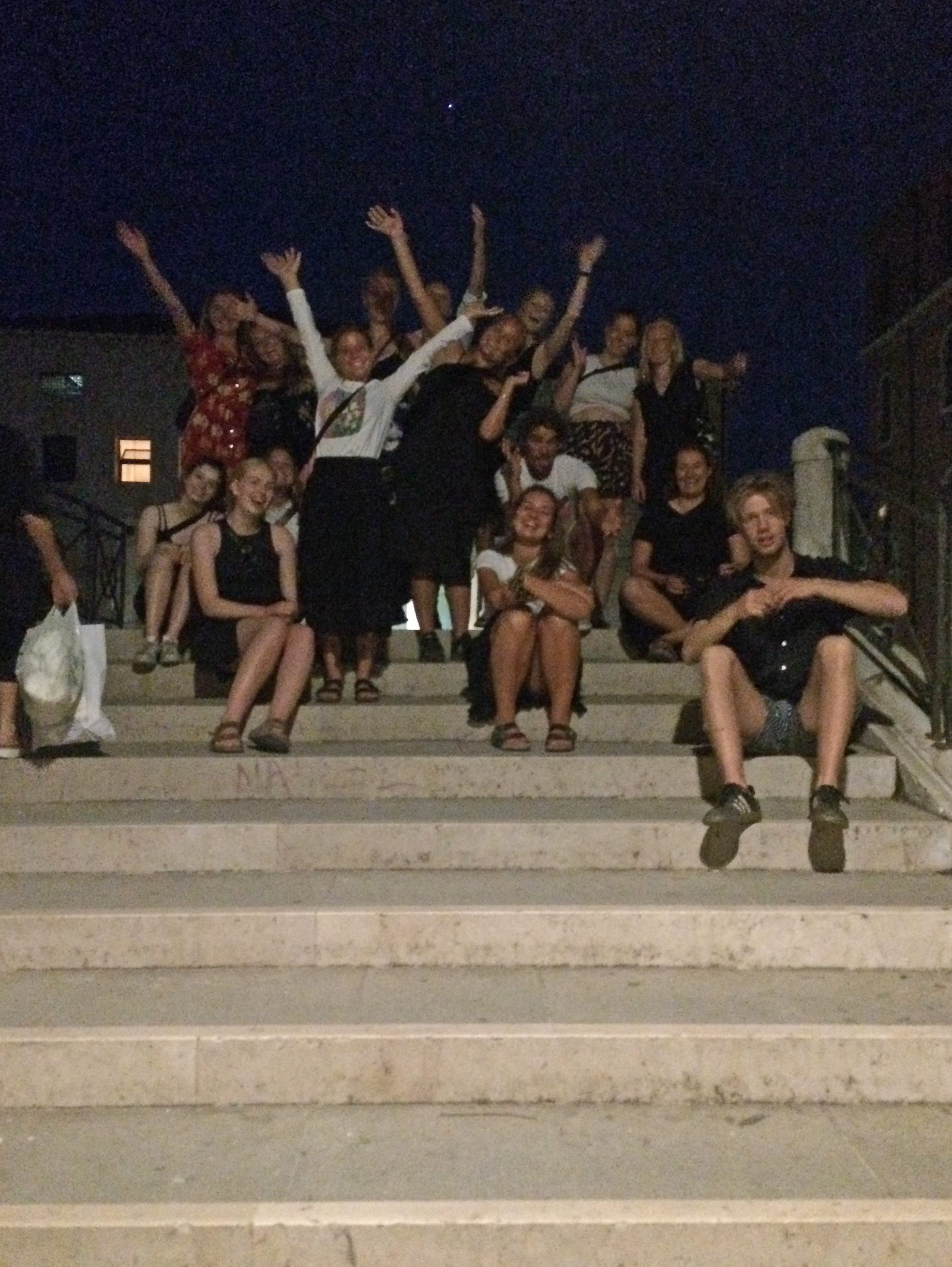 Night Exploration In Sant'Elena With The Krogerup College Students, Humlebaek, Denmark