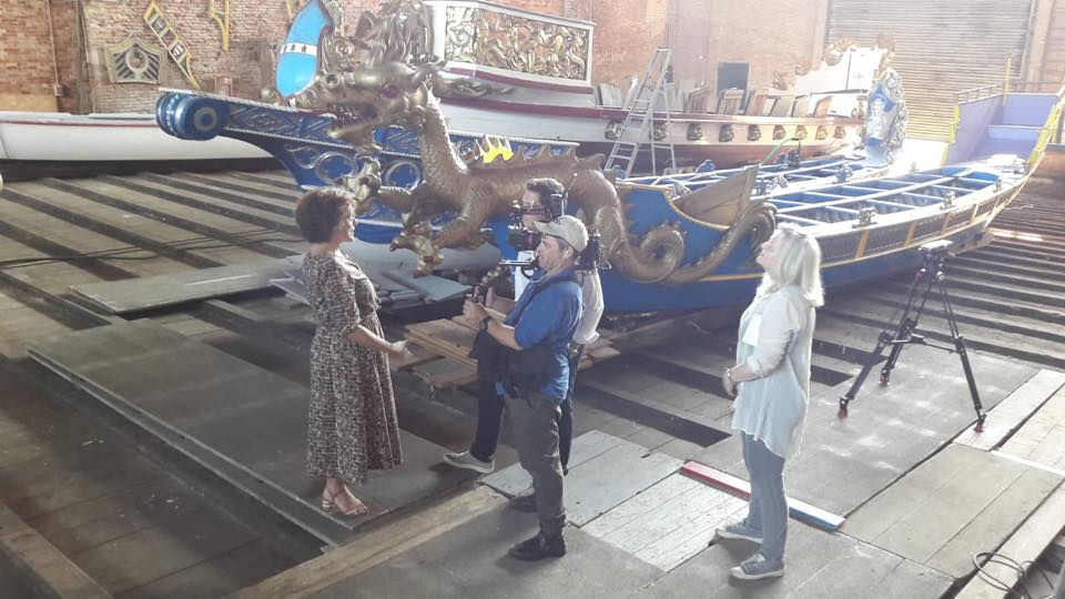 NBC Today Filming At The Arsenale