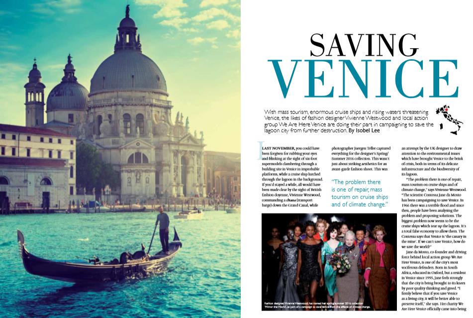 Italianicious, May-June 2016: Saving Venice