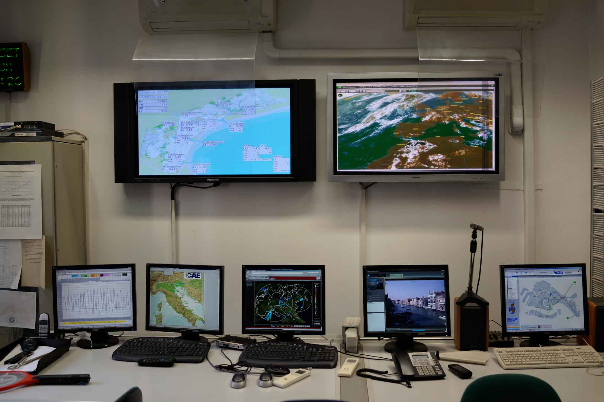 Cooperazione Con Il Centro Previsioni E Segnalazioni Maree Di Venezia
