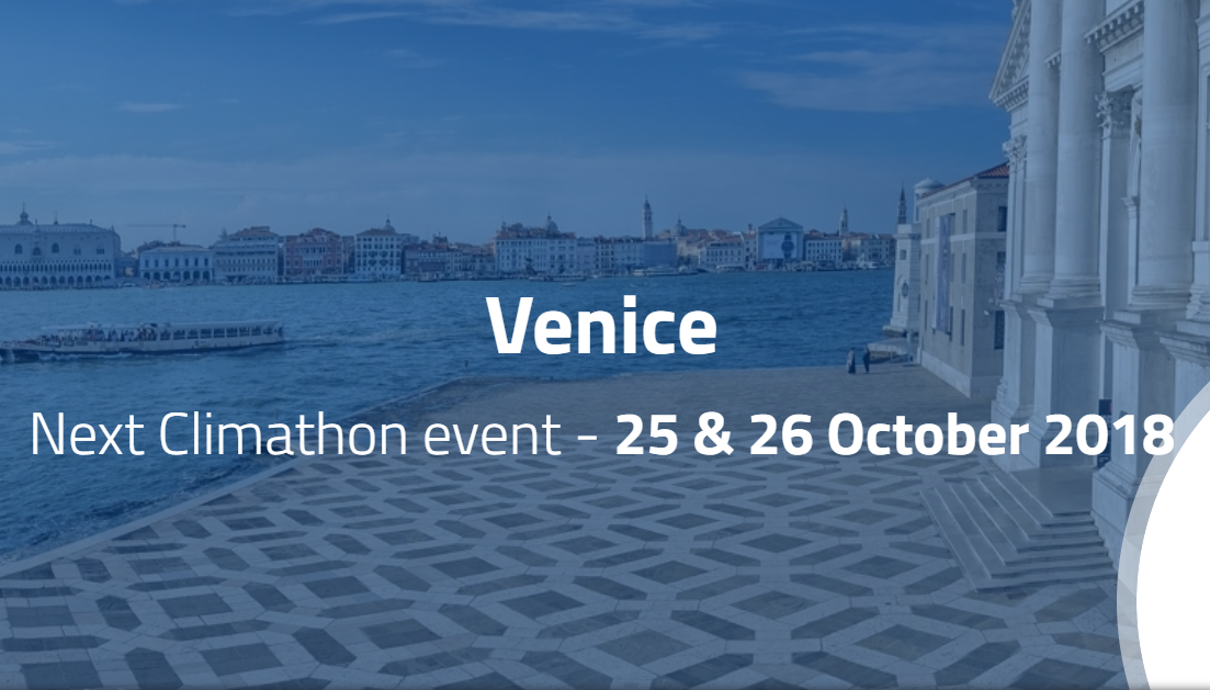 Climathon Venice 2018 – Ideas And Strategies For Reducing Resource Use And Waste In Venice