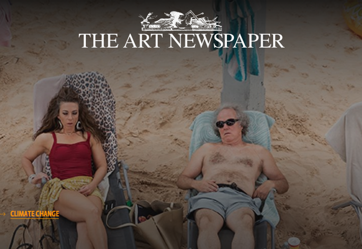 The Art Newspaper 10.06.2019 How The Art World Is Going Green