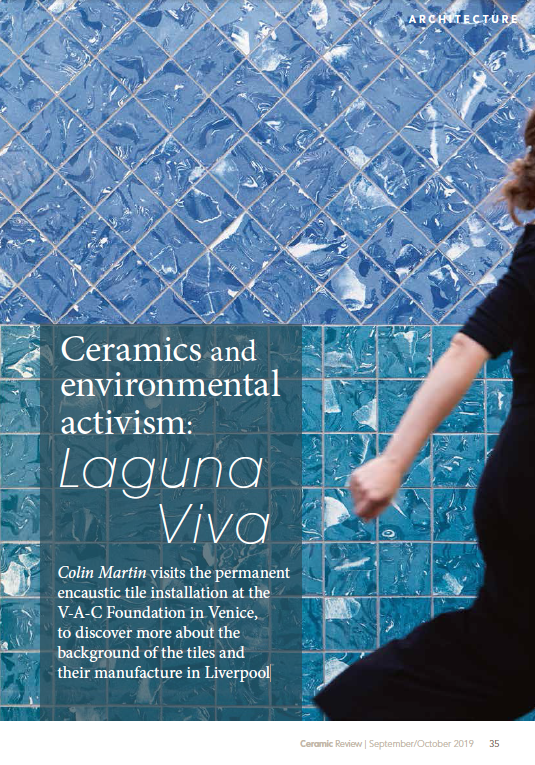 Ceramic Rewiew 08/09.2019 Ceramics And Environmental Activism: Laguna Viva