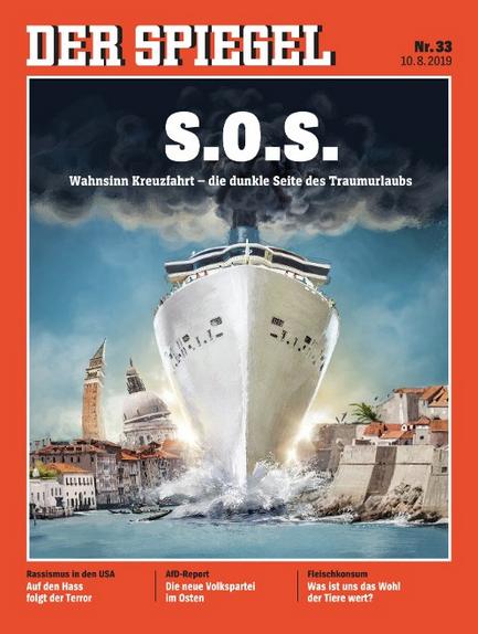 """Der Spiegel 11.08.2019 Umweltexpertin Zu Venedig """"Die Schiffe Müssen Kleiner Werden"""""""
