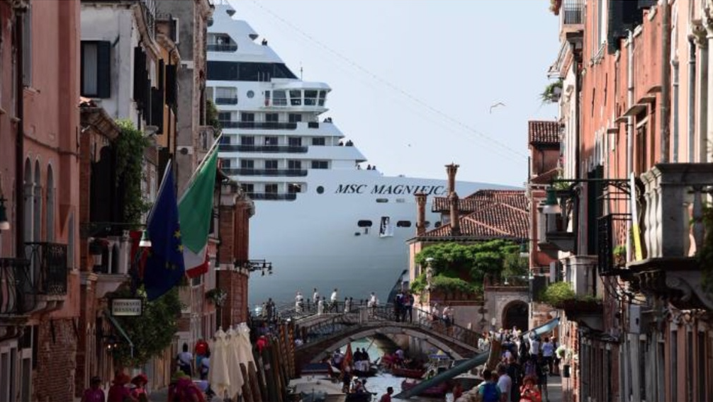 Financial Times 08.08.2019 Venice To Give Cruise Ships A Wide Berth