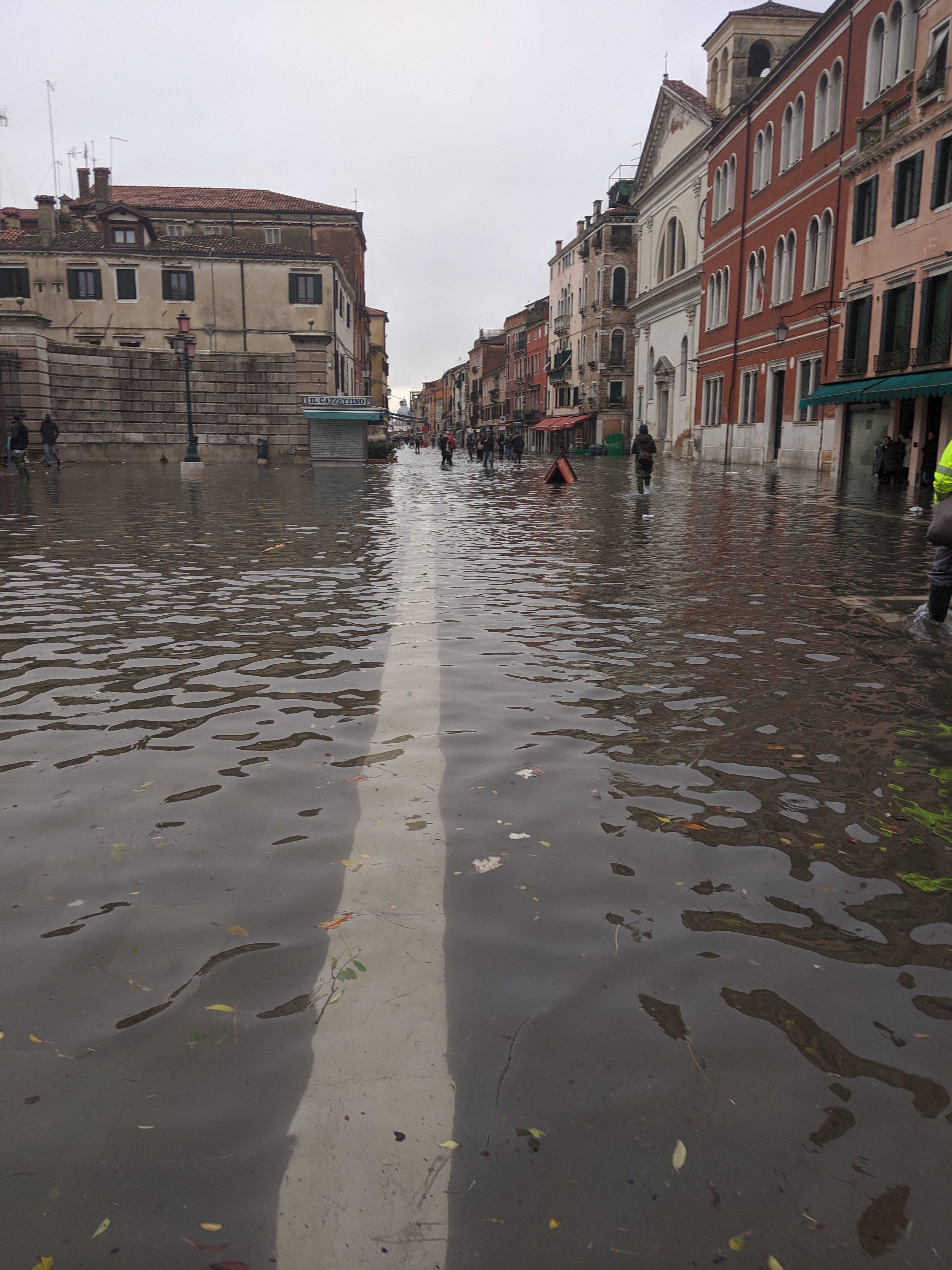 The Independent 22.11.2019: 'Il Timore Per La Città Di Venezia Va Ben Oltre Le Inondazioni Ancora In Corso'