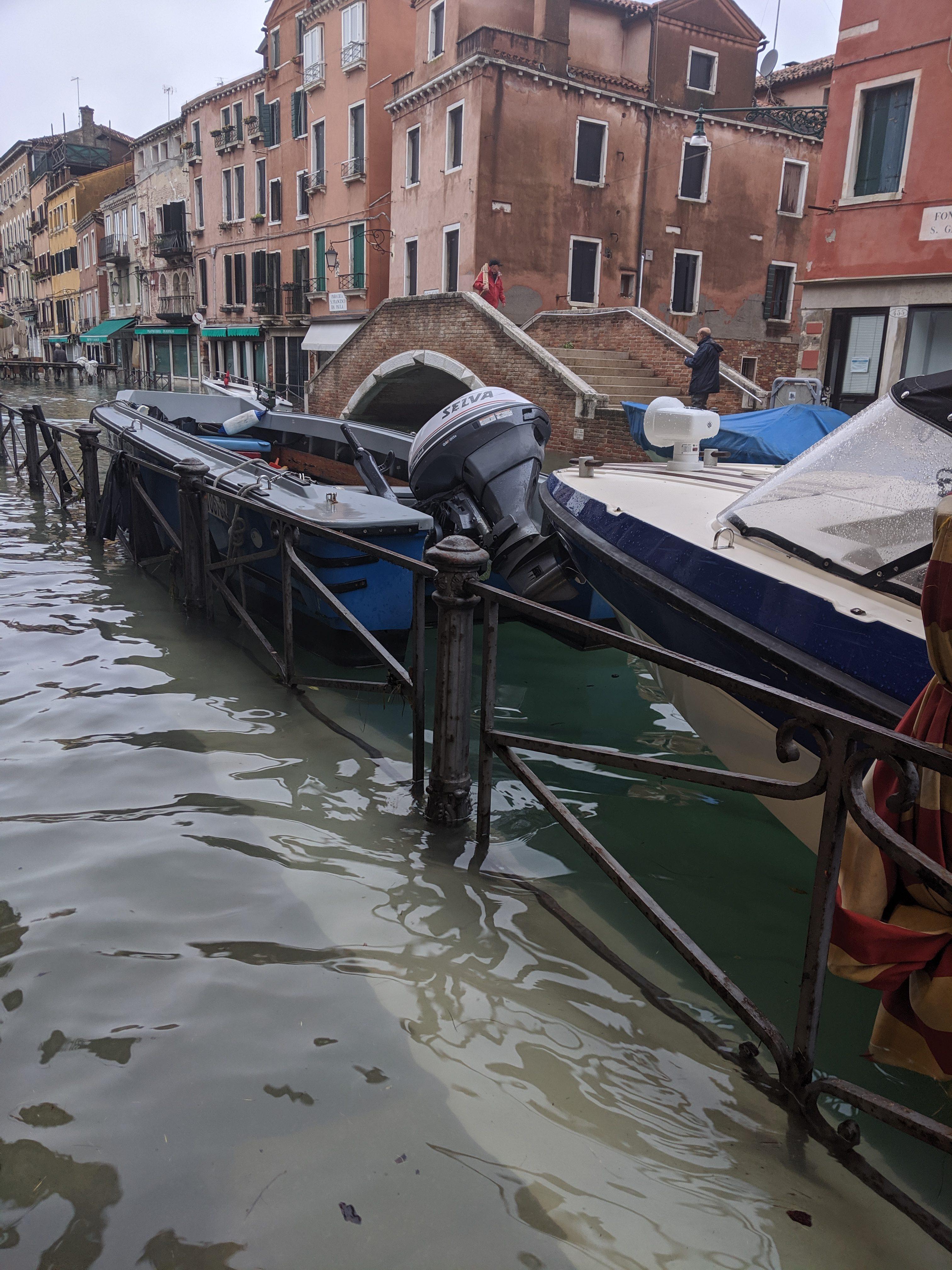 "Le Devoir 30.11.2019: ""Venezia: Destinata A Scomparire?"""